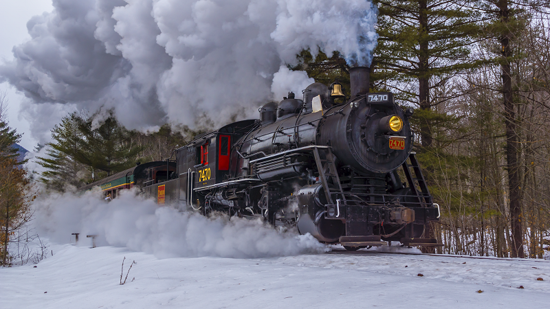 Steam In The Snow 2015